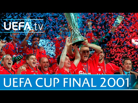 2001 UEFA Cup final highlights - Liverpool-Alaves