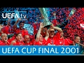 2001 UEFA Cup final highlights LiverpoolAlaves
