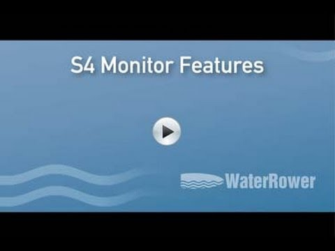 WaterRower Monitor - Features/How to Use