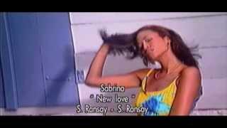 Le Clip Exclu !!! SABRINA Ransay    New Love  Zouk Rétro 2008 .2013