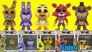 Five Nights at Freddy's FNAF Game Funko Pop Full Set