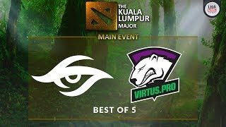 [DOTA 2] Team Secret VS Virtus Pro (BO5) - The KL Major GRAND FINAL