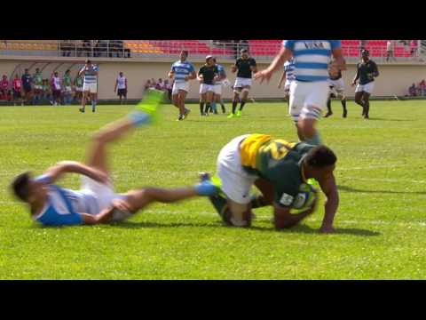 Video U20 Highlights: South Africa score 11 tries v Argentina