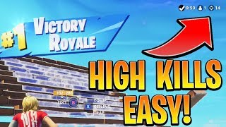 Get MORE KILLS In Fortnite EASY! Ps4/Xbox Fortnite Tips and Tricks! (How to Win in Fortnite solo)