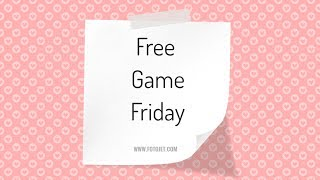 Free Game Friday - b