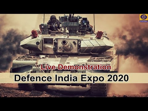 Defence India Expo 2020 - LIVE Demonstration from Defence Expo Site, Lucknow