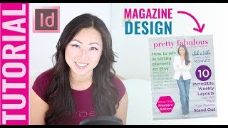 TUTORIAL How To Create Magazine Covers In InDesign