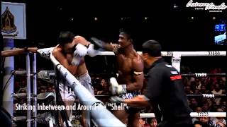 Buakaw's Killer Hand-Traps Into Knockout