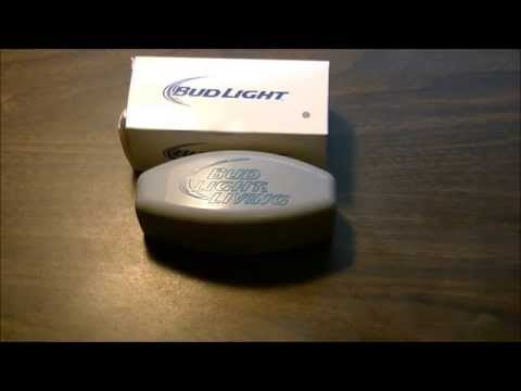 Bud Light Living USB Power Bank Charger Review