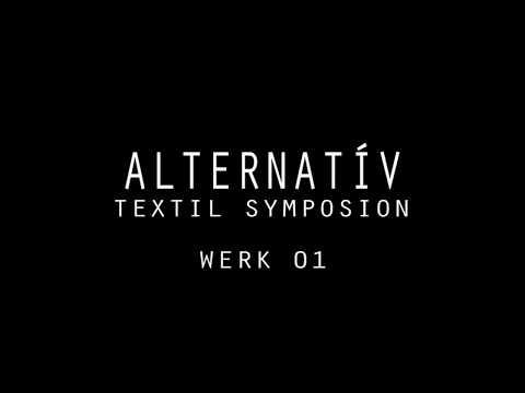Alternatív textil Szimpozion, Werk 1. Készítette: Péter Ágnes, 2017