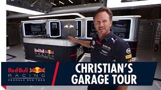 Christian Horner's Red Bull Racing Garage Tour