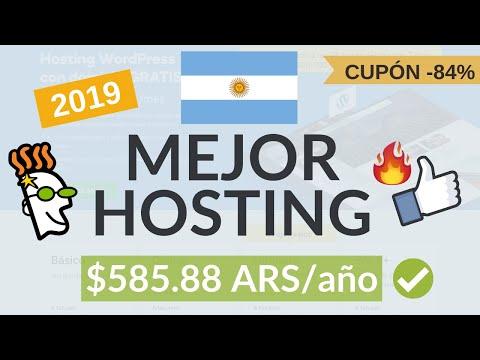 Mejor Hosting Argentina 2019  + Dominio GRATIS - por $585.88 ARS/año