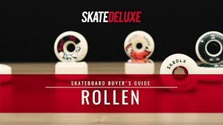Welche Skateboard Rollen sind die richtigen für mich?   skatedeluxe Buyer's Guide
