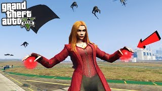 SCARLET WITCH AVENGERS MOD - GTA 5 MODS