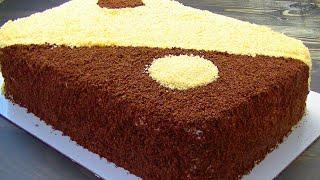 20 neferlik 🔴GECE GUNDUZ tortu, ucuz variant. ДЕНЬ И НОЧЬ торт