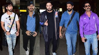 SPOTTED: Shahid Kapoor, Farhan Akhtar and other celebs at the Airport | SpotboyE