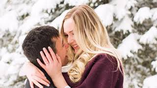 Calgary Engagement Photographer: Bebo Grove Fish Creek Park Winter Wonderland