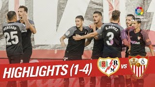 Resumen de Rayo Vallecano vs Sevilla FC (1-4)