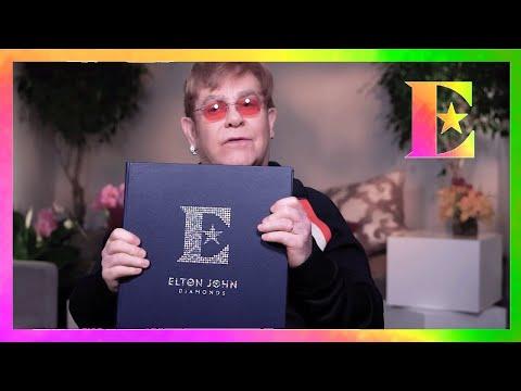 Elton John - The Diamond Club Fan Book