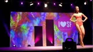 preview picture of video 'Mode City Paris 2012: swimwear & lingerie catwalk show 10'