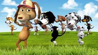 El Perro Chocolo y la canción de los 10 perritos