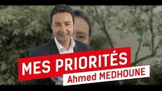 preview picture of video 'Ahmed Medhoune : Mes priorités pour Bruxelles'