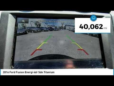 2016 Ford Fusion Energi North Hollywood,Los Angeles,San Fernando Valley,Glendale,Burbank B25397