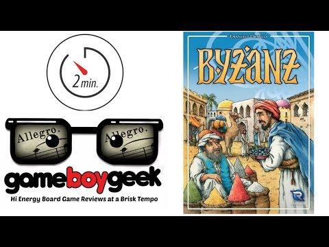 The Game Boy Geek's Allegro (2-min Review) of Byzanz