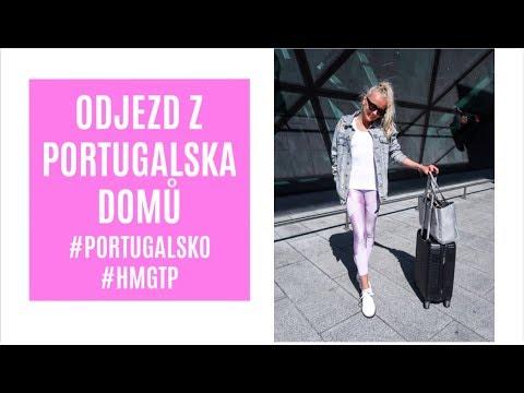 ODJEZD Z PORTUGALSKA DOMŮ! #VLOG #HMGTP