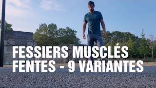 FESSES MUSCLES - FENTES - MES 9 VARIANTES