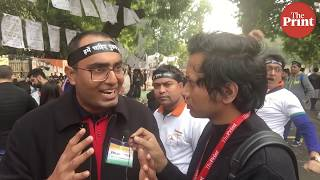 Leftist media and Satyagrah
