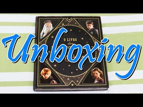 UNBOXING: O Livro dos Personagens de Harry Potter