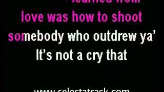 Alexandra Burke   Hallelujah ( Karaoke ).