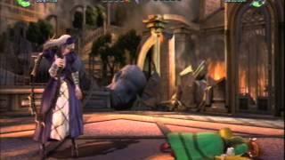 Suigintou   - (Rozen Maiden) - Soul Calibur V Anime Battles: Suiseiseki Vs Suigintou (Rozen Maiden)