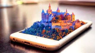 LIVE Photoshop Tutorial How to Make 3D Iphone Manipulation Castle