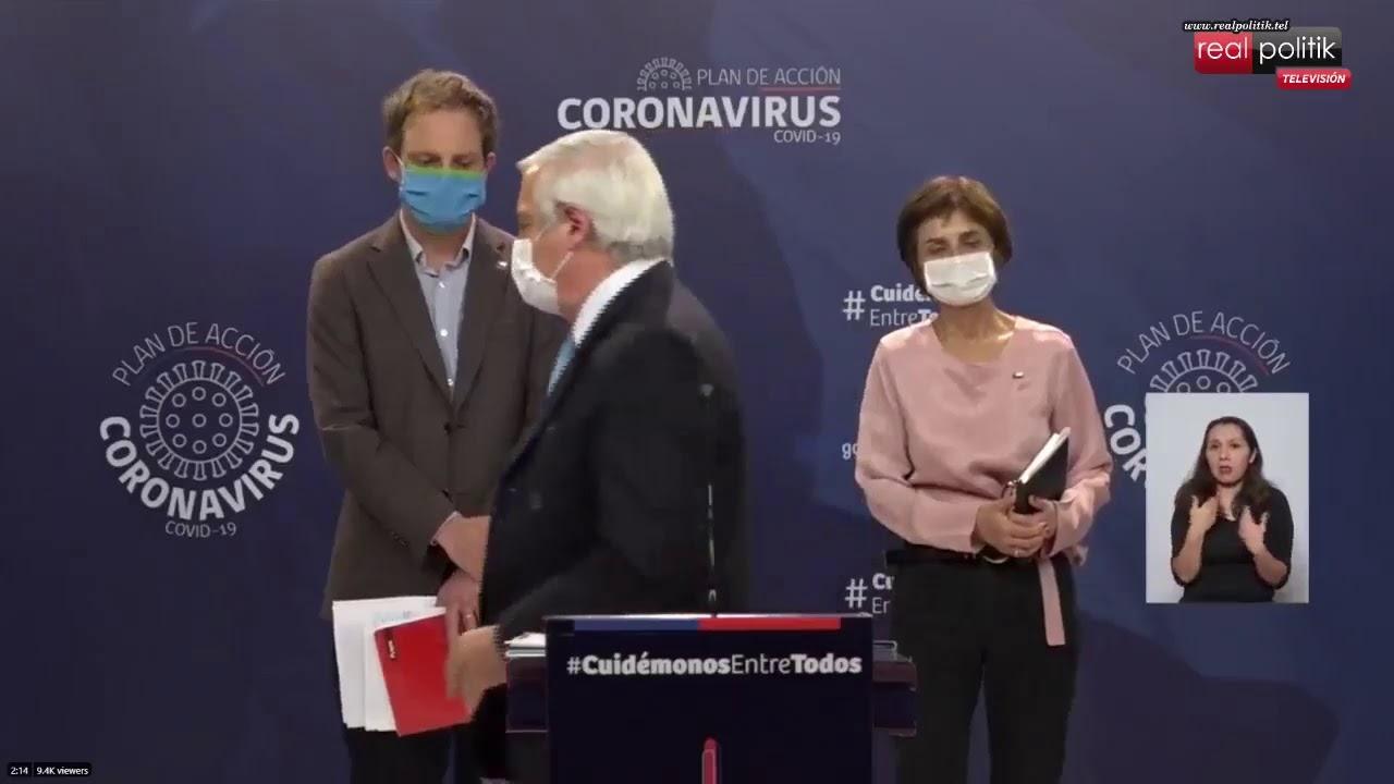 Chile: 11.812 casos confirmados y 168 muertes por coronavirus