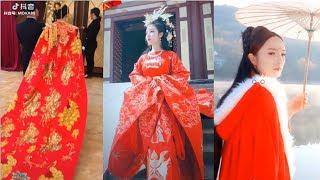 [Tik Tok China] Những bộ trang phục cổ trang của tiktok trung quốc