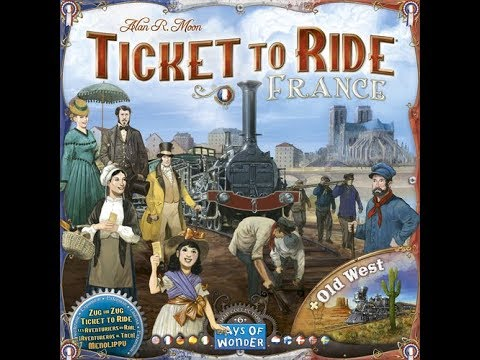 Dad vs Daughter - Ticket to Ride France