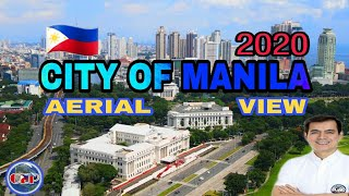 Aerial View Of The City Of Manila 2020