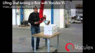 Lifting and Turning a Box with Vaculex VL