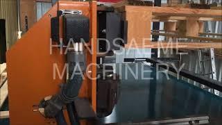 Pallet marking & stacking module