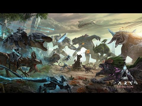 ARK: Extinction Expansion Pack Launches on Steam
