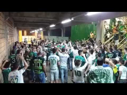 """Barra da chape - aquecimento"" Barra: Barra da Chape • Club: Chapecoense"