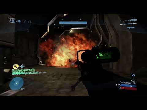 Halo 3 Team Arena LVL 27 Solo 4k - a CriminaI - игровое