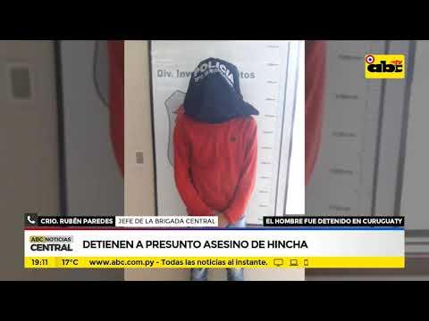 Detienen a presunto asesino de hincha