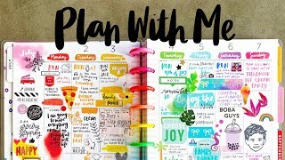 Plan With Me | Happy Planner
