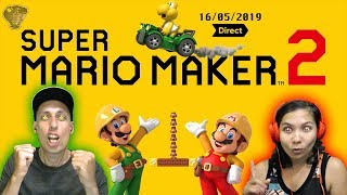 Nouveautés, Analyses Et Explications Du Nintendo Direct Mario Maker 2 - 16/05/2019