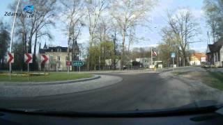preview picture of video 'Trasa egzaminacyjna WORD Białystok PRAWO JAZDY: z ulicy Myśliwskiej w ulicę Dojlidy Fabryczne - 22'