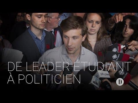 Gabriel Nadeau-Dubois: de leader étudiant à politicien