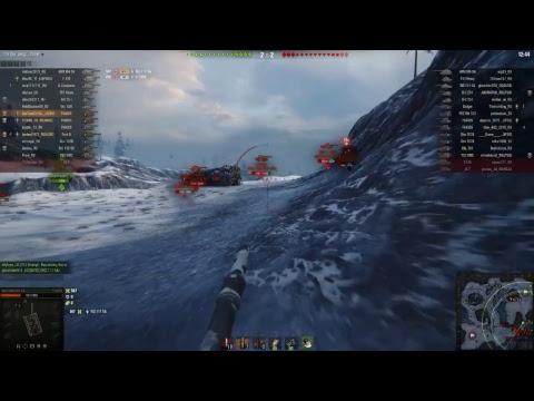 večerní jízda! Wolrd of Tanks